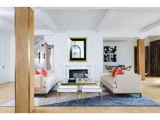 PARIS FORINO designed SUBLIME 5,444sf FULL FLOOR FIVE BEDROOM MASTERPIECE/  66 NINTH AVENUE RESIDENCE 6